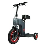 ACTON Fully Foldable M Electric Scooter; Black, 16 Years (MPAM003)
