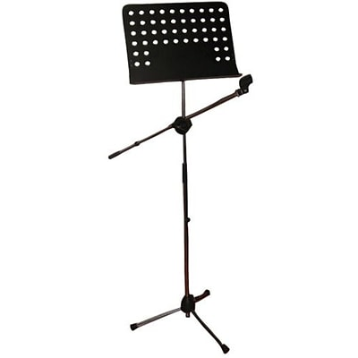 Pyle PMSM9 Presentation/Performance Microphone/Music Note Mount Stand Holder