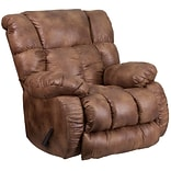Comfort Padre Almond Fabric Rocker Recliner
