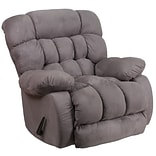 Softsuede Graphite Microfbr Rocker/Recliner