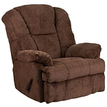 Hillel Chocolate Chenille Rocker Recliner