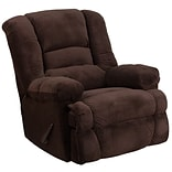 Dynasty Chocolate Microfibr Rocker Recliner
