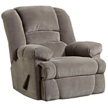 Dynasty Smoke Microfiber Rocker Recliner