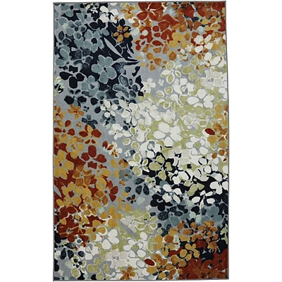 Mohawk Home Radiance Nylon 5x7 Multi-Colored Rug (086093419684)
