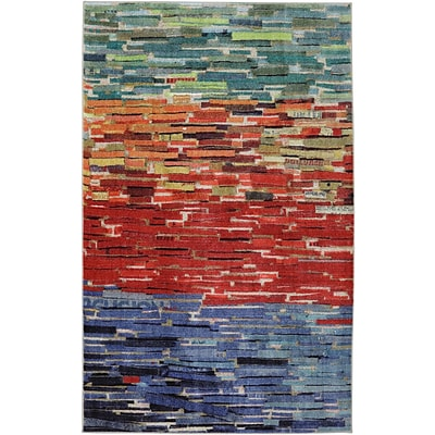 Mohawk Home Awaken Nylon 5x7 Multi-Colored Rug (086093419721)