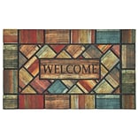 Mohawk Home Woodland Walk Doormat 16x26 Multi-Colored (086093478261)