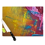 KESS InHouse Cityscape Abstracts III Cutting Board; 11.5 W x 8.25 D