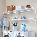 EZ SHELF from Tube Technology Expandable Laundry Room Shelving Kit