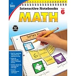 Carson-Dellosa Interactive Notebooks Math Grade 6 Resource Book (104910)