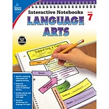 Carson-Dellosa Interactive Notebooks Language Arts Grade 7 Resource Book (104914)
