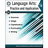 Carson-Dellosa Language Arts: Practice and Application Grades 7-8 Resource Book (404244)