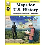 Mark Twain Maps for U.S. History Grades 5-8+ Resource Book (404247)