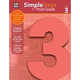 Thinking Kids Simple Steps for Third Grade Workbook (704916)