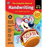 Thinking Kids The Complete Book of Handwriting Grades K-3 Workbook (704930)