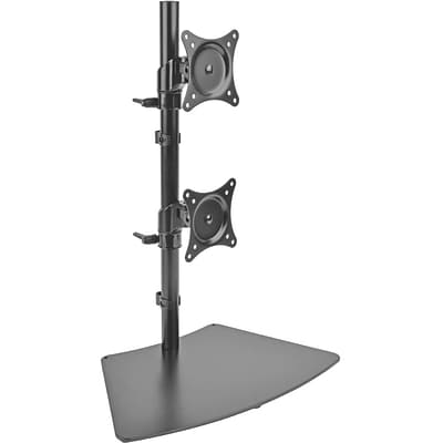 Tripp Lite DDR1527SDC 15 - 27 Dual Vertical Flat-Screen Desk Stand/Clamp Mount