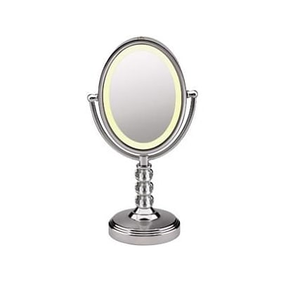 CONAIR-PERSONAL CARE Oval Crystal Ball Accent Mirror; 6 1/2 x 8 1/2 (BE71CT)