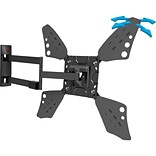 Barkan Mounts Flat/Curved TV Long Wall Mount; 4 Movement Rotate, Fold, Swivel And Tilt (3400L.B)