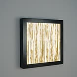 WPT Design V-II 4-Light Square Wall Sconce; Thatch