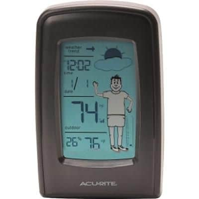 Acurite® 00827 What-to-Wear Weather Station; 165