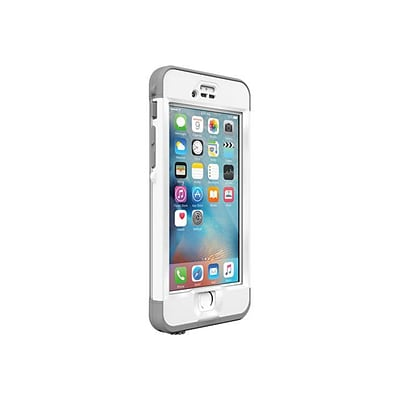 LifeProof Nuud Case for iPhone 6s Plus; Avalanche White (77-52575)