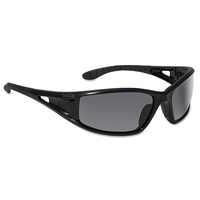 Bolle Lowrider Series Polycarbonate Safety Glasses, Smoke Lens (286-40052)