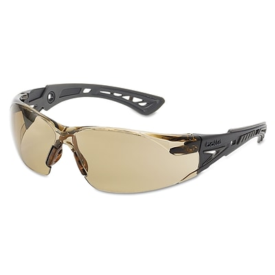 Bolle Rush+ Series Polycarbonate Safety Glasses, Twilight Lens (286-40225)