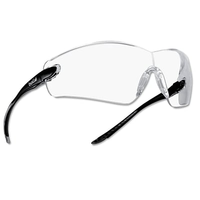 Bolle Cobra Series Polycarbonate Safety Glasses, Clear Lens (286-40037)