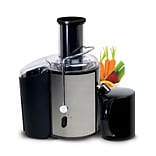 Elite Full-function 2-Speed Fruit/Vegetable Juicer Stainless Steel; Black (KM9700)