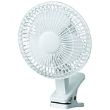 Royal Sovereign; 6 Clip-on Fan, White (DFN-06)