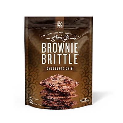 Sheila Gs™ Brownie Brittle™, Chocolate Chip, 5 oz., 12/CT