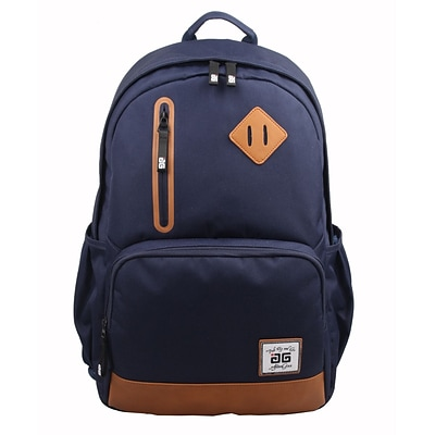 AfterGen Blue Polyester Back to School Backpack (AG001-BL)