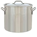 Bayou Classic® 1440 10 Gallon Stainless Steel Brew Pot; Silver