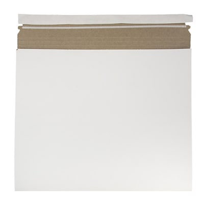 JAM Paper® Expandable Photo Mailer, 15 x 12.5 x 1, White, Sold Individually (38906707)
