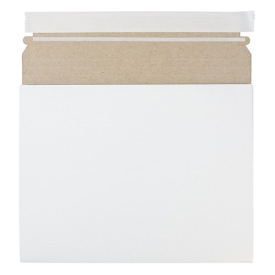 JAM Paper® Expandable Photo Mailer, 10 x 7.75 x 1, White, Sold Individually (18906705)