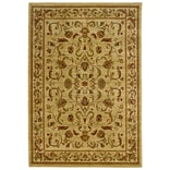 StyleHaven Large Scale Floral Polypropylene 710X10 Red/Gold Area Rug