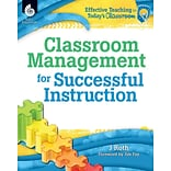 Shell Education Classroom Management for Successful Instruction, Paperback