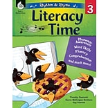 Shell Education Rhythm & Rhyme Literacy Time, Paperback, Grade 3