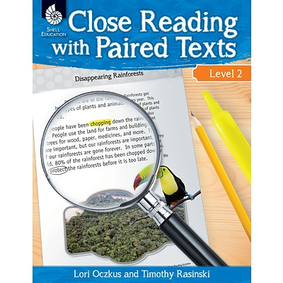 Close Reading with Paired Texts Level 2, Paperback (51358)