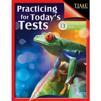 TIME For Kids: Practicing for Todays Tests Language Arts Level 3, Paperback (51436)