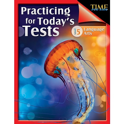 TIME For Kids: Practicing for Todays Tests Language Arts Level 5, Paperback (51438)