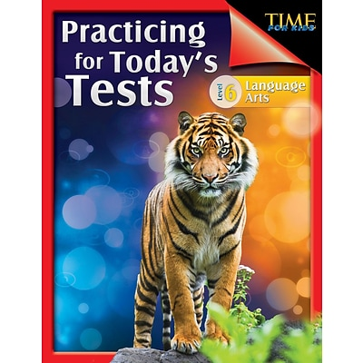 TIME For Kids: Practicing for Todays Tests Language Arts Level 6, Paperback (51439)