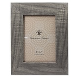 5x 7 Weathered Gray Halloway Pic Frame