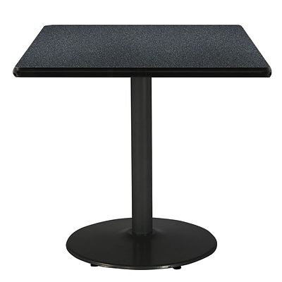 KFI 42 Square HPL Table Graphite Nebula (T42SQB1922BKGRN)