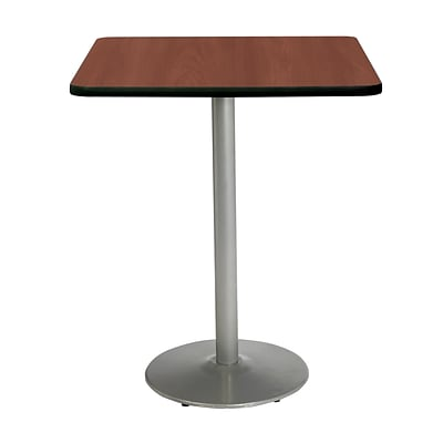 KFI 42 Square Bar Height HPL Table Mahogany (42SQB1922SLMH38)