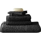 Colonial Textiles Egyptian 6 Piece Towel Set; Charcoal