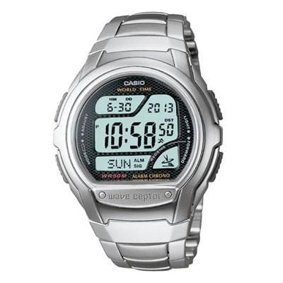 Casio® Multi-Band Atomic Timekeeping Digital Sports Watch; Silver (WV58DA-1AV)