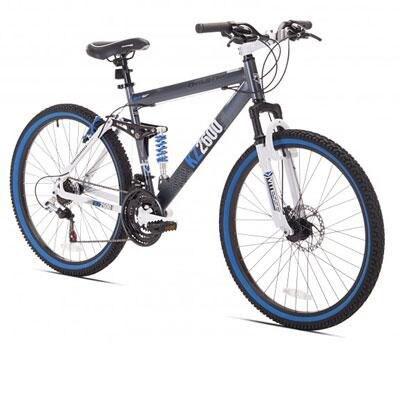 Kent Bicycles Thruster Dual Suspension Mountain Bike,
