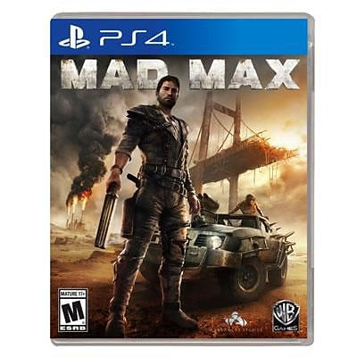 Take-Two® Action/Adventure Mad Max PS4 Game Software (1000423873)