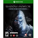 WB® Me Action/Adventure Shadow of Mordor Goty Gaming Software; Xbox One (1000568292)