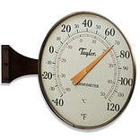 Taylor® 480BZ 8 1/2 Analog Thermometer; Bronze